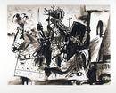Pablo Picasso Lithograph, Cavalier en Armure