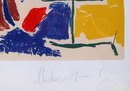 Pablo Picasso Framed Lithograph, Le Peintre