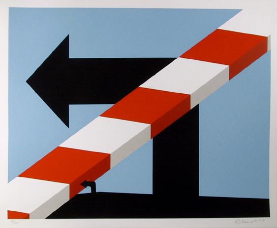 Allan D'arcangelo, S/N Pop Art Print,