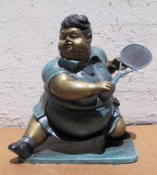 Bruno Luna, Tennis Player, Mexican Bronze