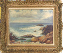 Abraham Rosenthal Oil Painting, New England