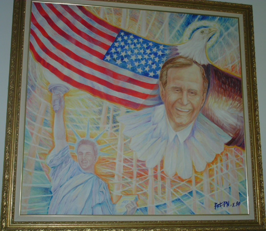 Nicoli Papp, My America, George Bush, Oil