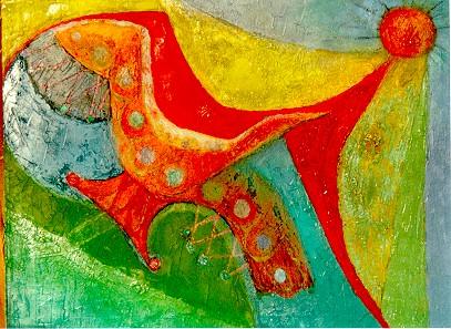 Miriam Bromberg, Original Oil on Canvas