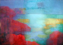 Miriam Bromberg, Oil Painting, Abstract Landsca