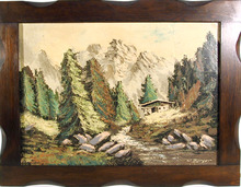W. Berger, German Landscape Oil Painting