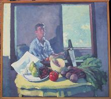Don Wynn  Original Oil on Canvas Painting,