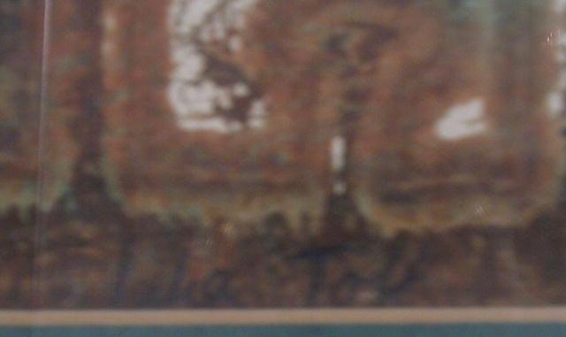 Lilia Toll Original Painting, Watercolor &