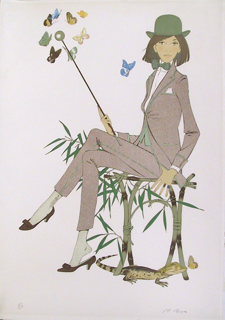 Philippe de Noyer, Large Signed Lithograph