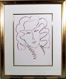 Henri Matisse, Portrait, Framed Lithograph