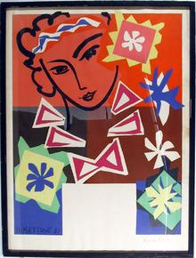 Henri Matisse, Framed Lithograph, Mourlot