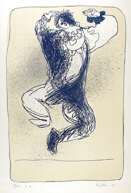 Juan Garcia Ripolles, Lithograph Spanish