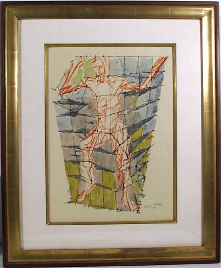 Jacques Villon, Framed Lithograph 1959