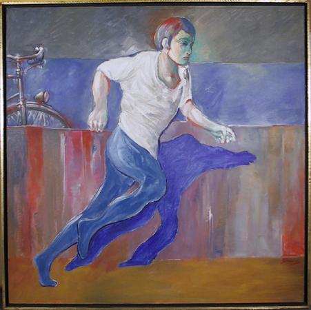 Benjamin Silva, Acrylic on Canvas Painting,