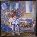 Benjamin Silva, Brazilian Painting, Two Friends