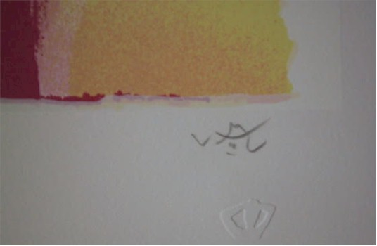 Roberto Matta, L'eau et Mana, Signed Lithograph