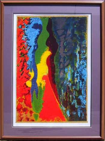 Claude Bellegarde, Lithograph, Framed, 1982