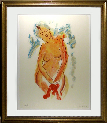 Wayne Ensrud, Signed & Numbered Print, Nude