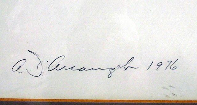 Allan D'Arcangelo, Constructivist Serigraph