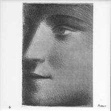 Pablo Picasso La Femme, Ceramic Tile