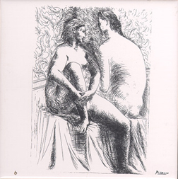 Pablo Picasso Two Nudes Ceramic Tile