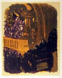 Edouard Vuillard Lithograph, c. 1950,