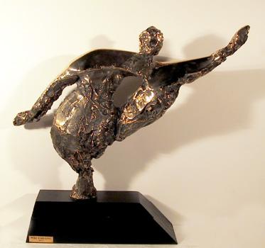 Nili Carasso Bronze Sculpture, Movement
