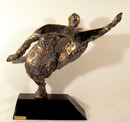Nili Carasso Bronze Sculpture, Movement