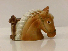 Ceramic Horse Sculpture