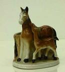 Ceramic Horse Sculpture