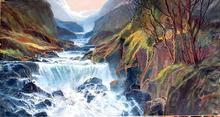Lielang Oil on Canvas Painting, Landscape