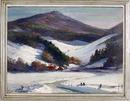 Arthur R. Herrick, Oil on Canvas Painting,