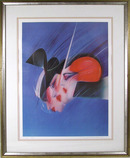 Pater Sato S/N Lithograph, Space Stirs