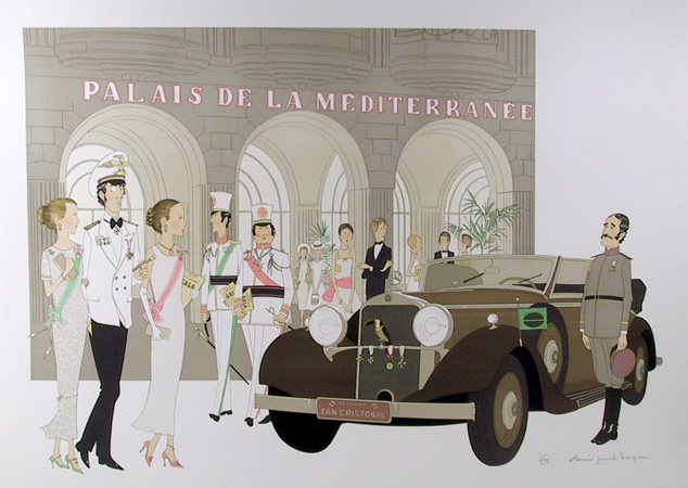 Denis Paul Noyer, S/N Serigraph Palais de