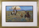 Noel Dagget, Watercolor Painting, Western