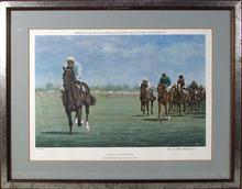 Richard Stone Reeves S/N Print, Horse Racing