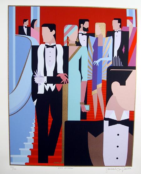 Giancarlo Impiglia, Serigraph, Grand Staircase