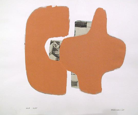 Conrad Marca Relli, Signed Collage, 1968