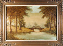 Original Oil on Canvas Painting, Landscape