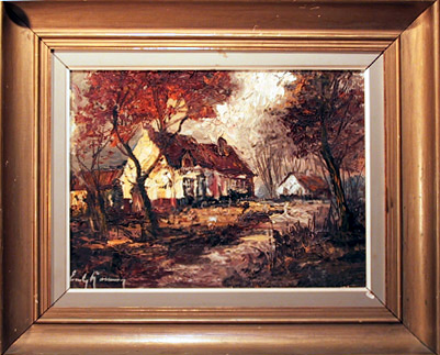 Original Oil Painting, landscape