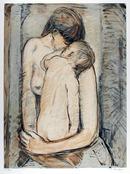 Elizabeth Franzheim S/N Lithograph, Nude
