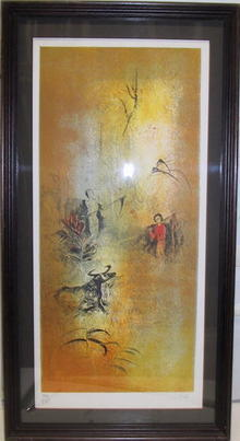 Hoi, hand signed & numbered lithograph