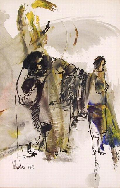 Gino Hollander, Acrylic and Mixed Media