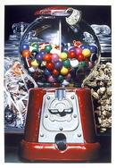 Charles Bell Silkscreen, Gumball Machine