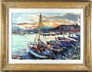 Dmitrie Berea Framed Painting French Riviera
