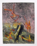 Roberto Matta  Aquatint Etching, Ma Chair Rie