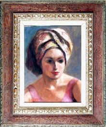 Alfieri Oil Painting, Portrait of a Girl