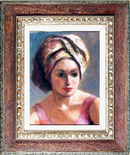 Alfieri Oil Painting, Portrait of a Girl