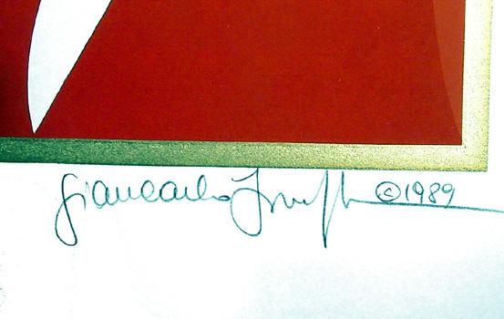 Giancarlo Impiglia, Talking Heads, Signed Serigraph