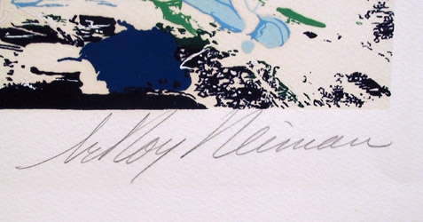 LeRoy Neiman, North Seas Sailing, Serigraph