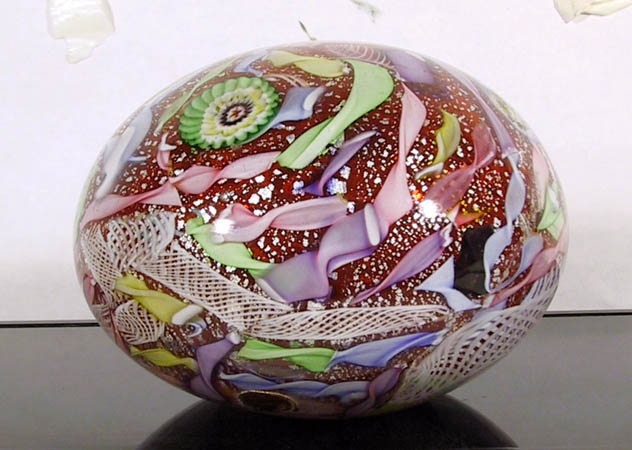 Madein Murano Collectible Glass Paperweight
